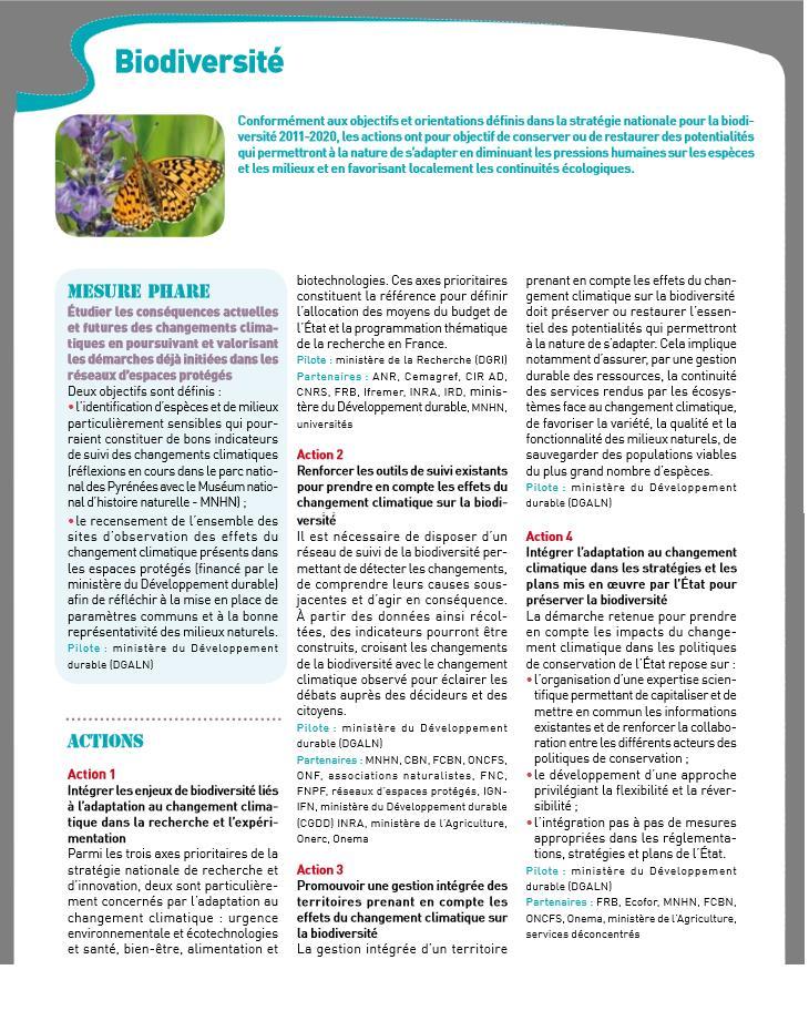 L'adaptation au changement climatique par Marie LEFEVRE-FONOLLOSA (3/3)